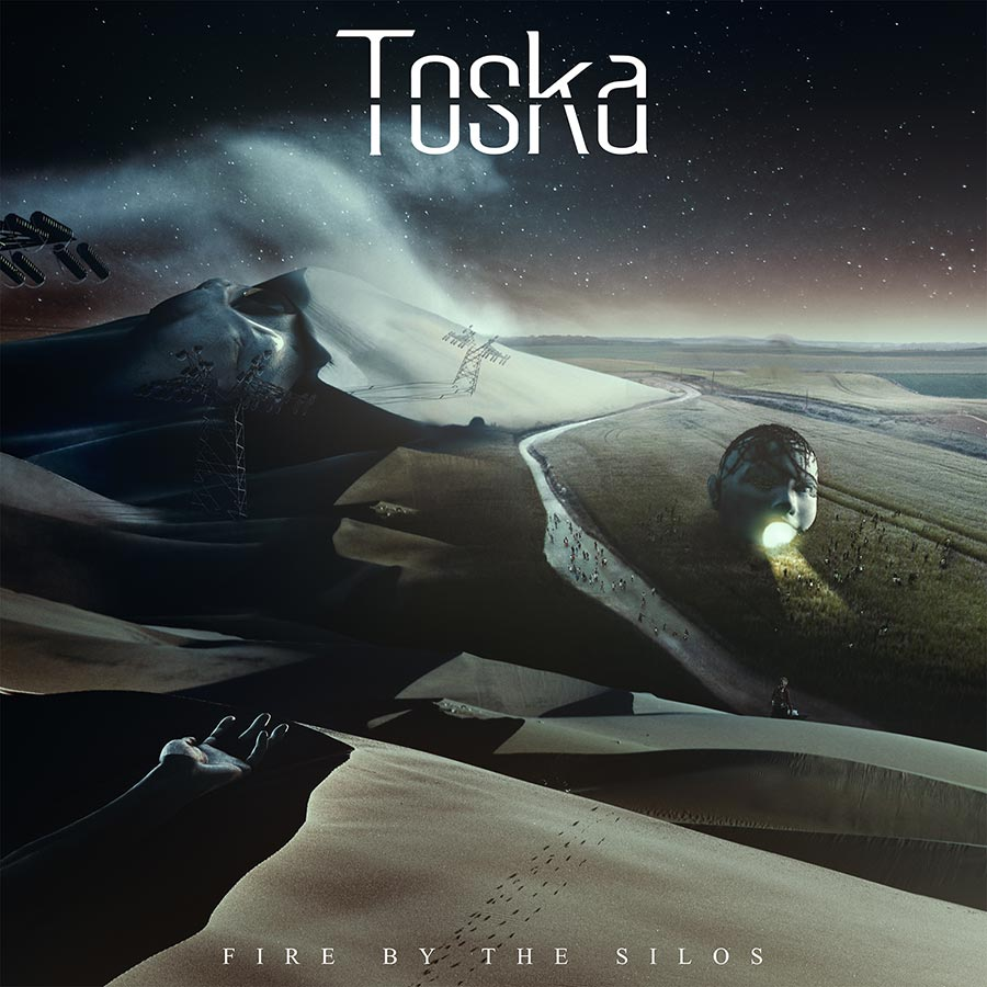 TOSKA - FIRE BY THE SILOS ALBUM COVER
